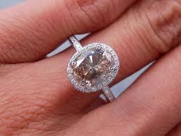 oval cut diamond 2 32 carats ct tw oval cut diamond engagement ring