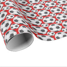soccer wrapping paper paper soccer patterns patterns kid