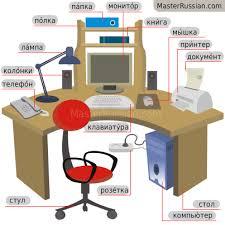 bureau dictionnaire dictionnaire russe illustré le bureau
