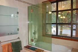 Bathtub Enclosures Ideas Shower And Tub Enclosure Ideas From River Glass Designs