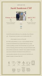 sharedsorrows com sample obituary help with funeral planning