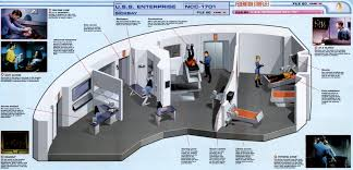 Star Trek Enterprise Floor Plans by The Trek Collective Slicing Up The Enterprise Cutaway Models
