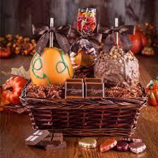 fall gift basket ideas autumn gift baskets order caramel apples online