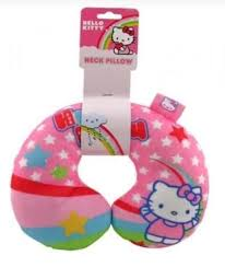 travel neck pillow cushion support kids childs childrens soft car