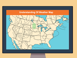 Frontal Boundary Map How To Read A Weather Map With Pictures Wikihow