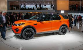 orange land rover discovery 2016 land rover discovery sport wallpaper hd 16154 grivu com