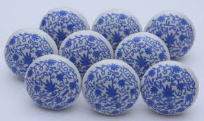 Door Knobs For Kitchen Cabinets by Blue And White Ceramic Knobs Ceramic Door Knobs Kitchen Cabinet