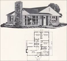 best small house plans residential architecture weyerhauser house plan small 1961 modern ranch style home