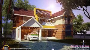 house plan of modern mix house kerala home design siddu buzz