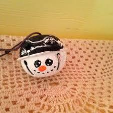 jingle bell snowman ornaments decorations
