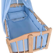 goplus wood baby cradle rocking crib newborn bassinet bed sleeper