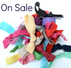 emi hair ties 15 elastic hair tie sale grab bag ribbon hair ties gift set