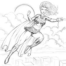 printable 20 superhero coloring pages 4455 free coloring