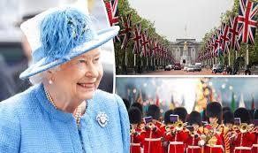 queen u0027s 90th birthday london prepares weekend official