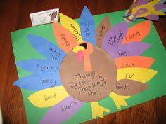 simple and thanksgiving tradition gratitude turkey make one