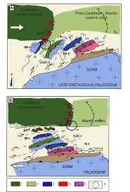 Map Of Islands In The Caribbean by The Caribbean Plate Evolution Trying To Resolve A Very
