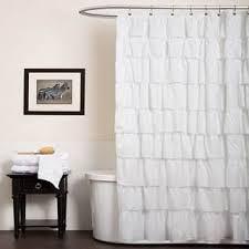 Black Ruffle Shower Curtain Lush Decor Lush Decor Shower Accessories Shop The Best Deals For