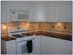 tumbled marble tile backsplash installation tiles home design