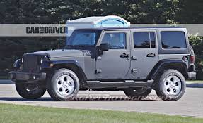 types of jeeps list 2017 jeep wrangler spied we look underneath u2013 news u2013 car and driver