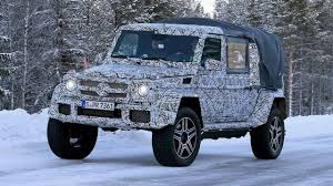mercedes g500 pickup 2018 mercedes g class 4x4 spied as double cab pickup youtube