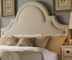 king upholstered headboard with nailhead trim incredible king padded headboard including upholstered beds