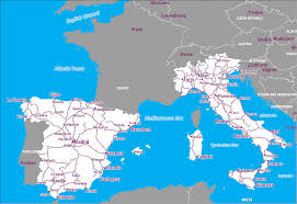 Map Of Florence Italy Map Of Spain And Italy Greece Map
