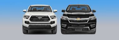 chevy tracker off road chevrolet colorado vs toyota tacoma which should you buy