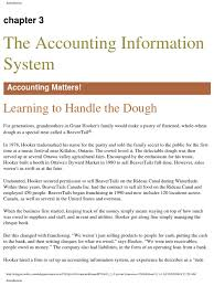 3 the accounting information system retained earnings debits