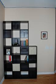 furniture unique dark glass bookshelf target for modern interior