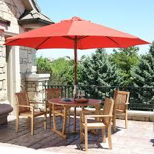 Patio Furniture Umbrella Wood Patio Outdoor Furniture Umbrella