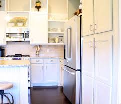 cottage kitchen furniture chalk painted kitchen cabinets cottage kitchen redo hometalk