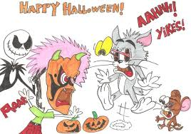 tom jerry u0027s halloween jamesf5 deviantart
