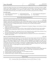 Easy Resume Creator by Breathtaking Event Planning Skills Resume 80 For Easy Resume