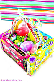 best easter baskets how to make the best diy candy box easter baskets