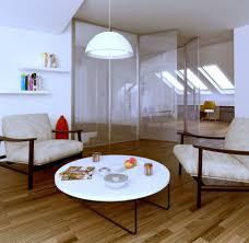 attic area polish firm white and glass attic living area interior design ideas
