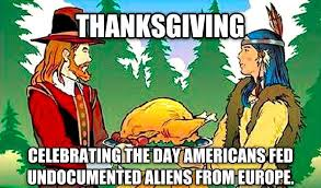 thanksgiving celebrating the day that americans fed undocumented