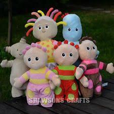 night garden plush toys upsy daisy iggle piggle makka