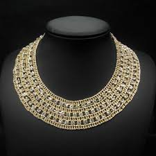 fashion collar necklace wholesale images Fashion high collar beaded necklaces wholesale wide choker jpg