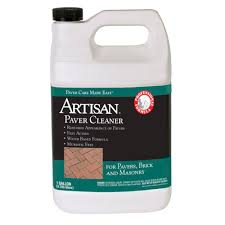 How To Clean Paver Patio by Artisan 1 Gal Paver Cleaner 99911 The Home Depot
