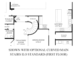 model staircase floor plans with spiral staircase home curved