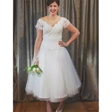 50s wedding dresses vintage ankle length 50s wedding dresses sleeve v neck lace