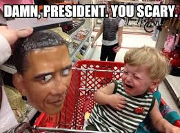 Scary Halloween Memes - scary president funny halloween meme
