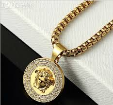 hip hop jewelry necklace images Hot mens 18kgold necklace hip hop jewelry for sale jpg