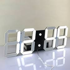 aliexpress com buy remote control large led digital wall clock