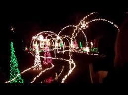 benson nc christmas lights mike s farm christmas light show youtube