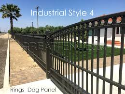 aluminum fence designs greatfence com