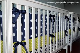 loving life diy no sew crib bumper