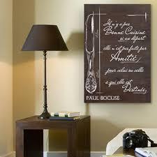 tableaux cuisine tableau bois citation celebrite cuisine restaurant paul bocuse listing2 jpg
