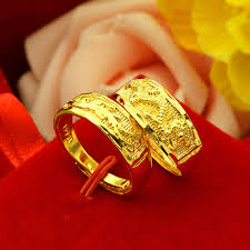 dragon jewelry rings images Fashion jewelry rings gold color ring dragon and phoenix jpg