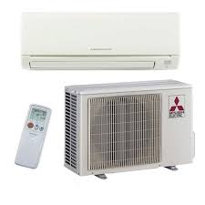 mitsubishi m series 12 000 btu ductless air conditioner wall